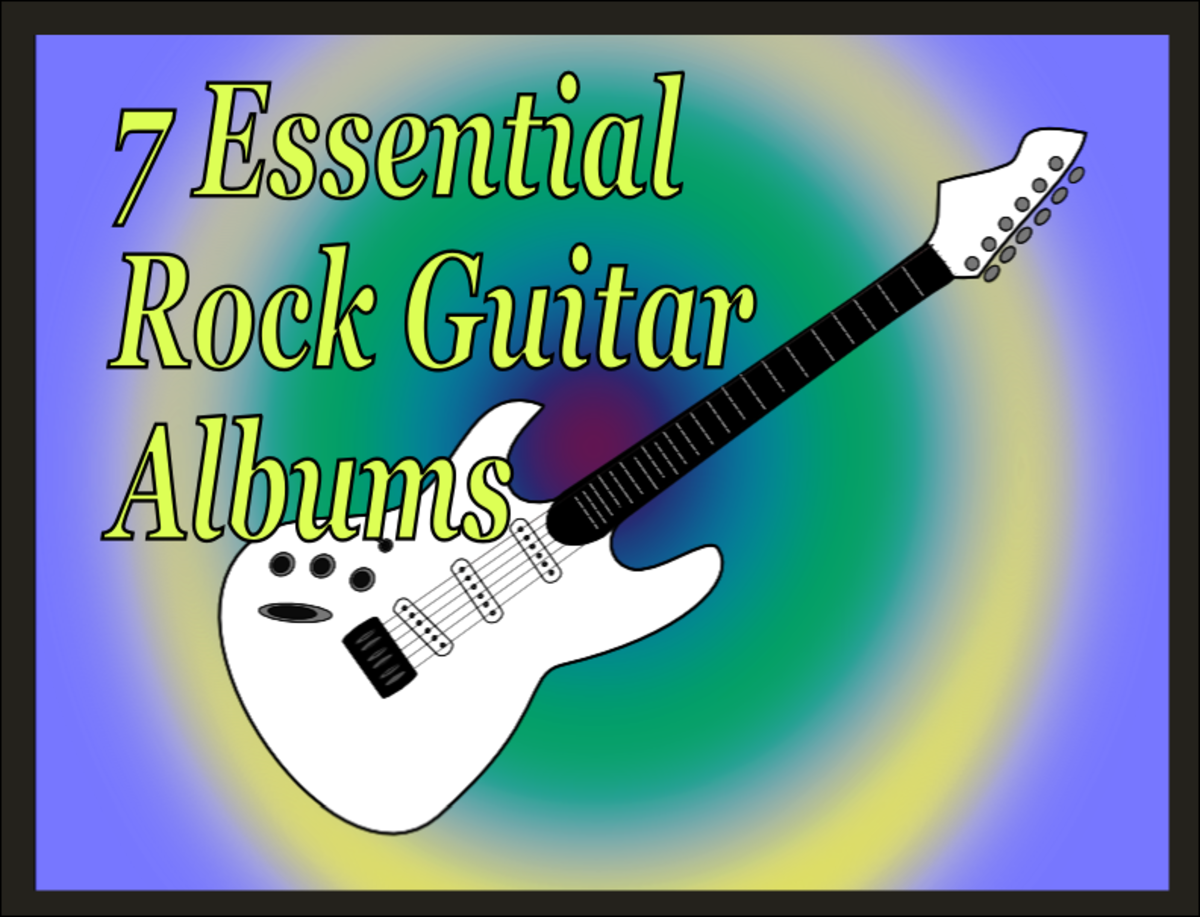 Seven essential rock guitar albums by legendary guitar players.