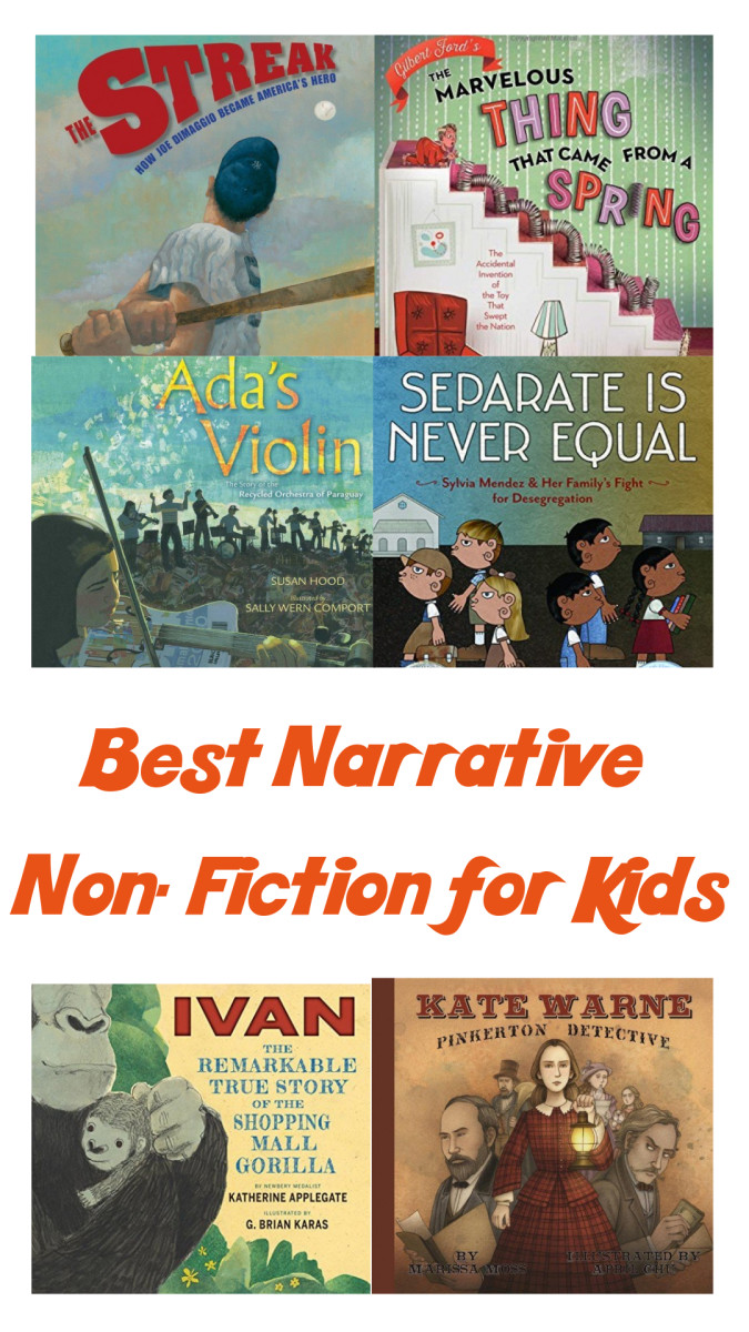 A Review Of The 37 Best Narrative Nonfiction Books For Kids Wehavekids