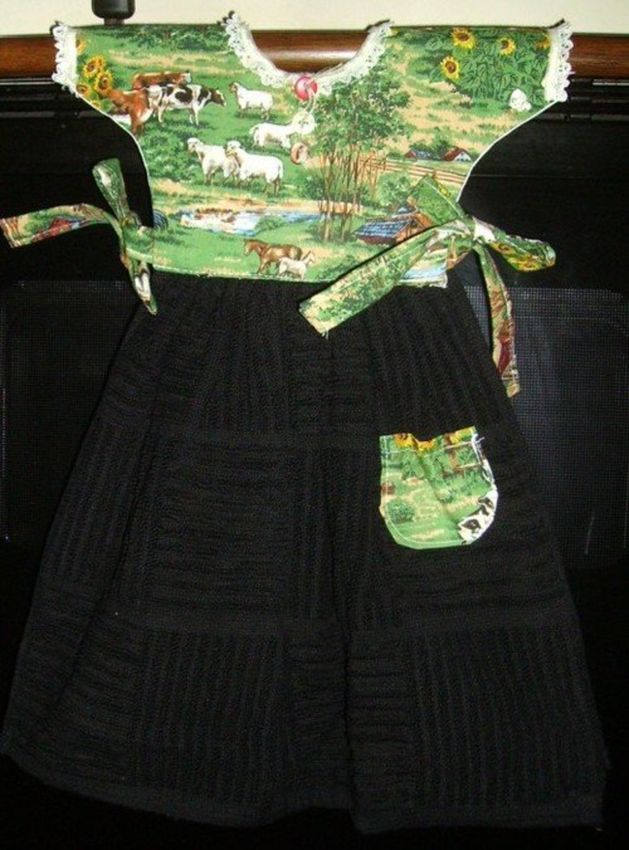 How To Sew A Decorative Oven Door Dress Free Pattern Feltmagnet