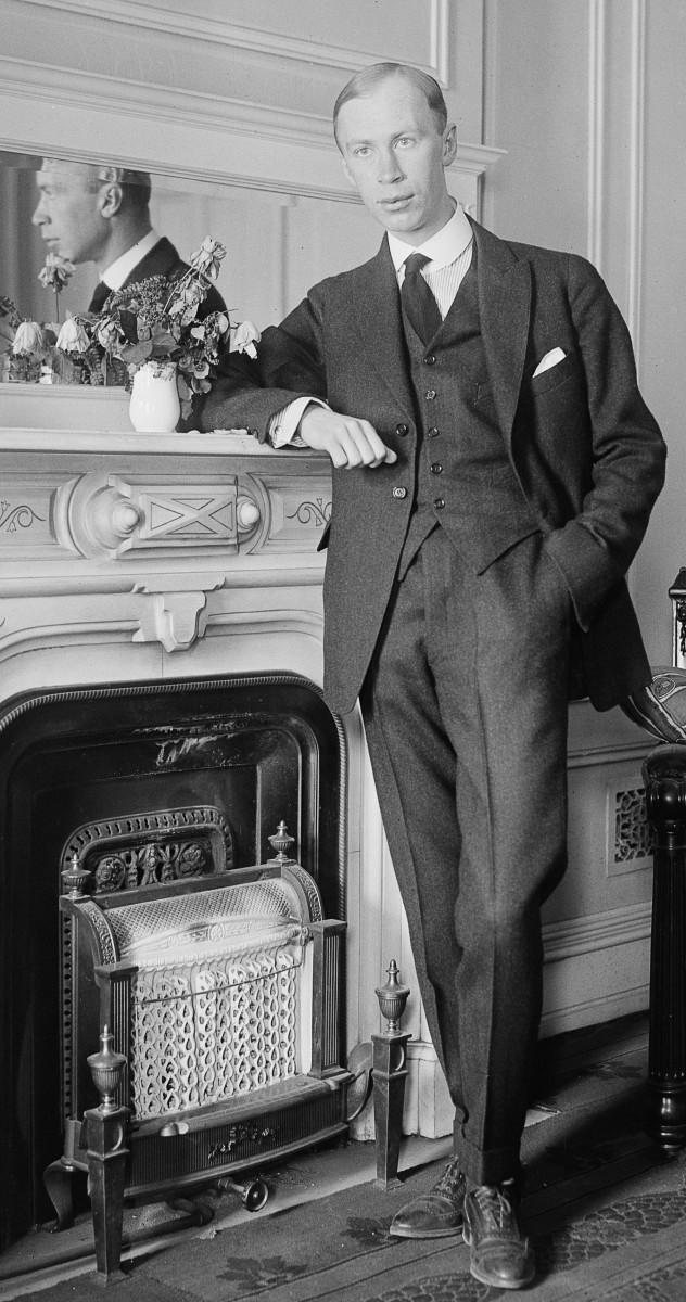 Sergei Prokofiev as a young man, circa 1918