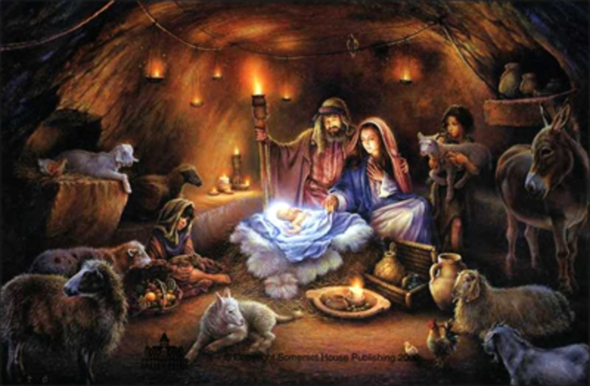 Easy Guitar Christmas Songs • Away In A Manger  • Chords, Melody, Guitar Duet, Standard Notation, Tab, Lyrics.