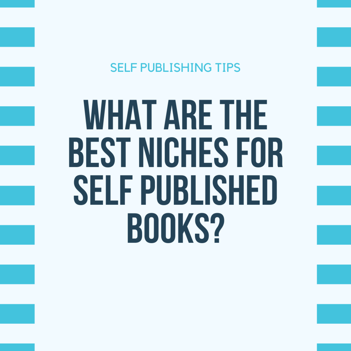 What Are the Best Niches for Self Published Books?