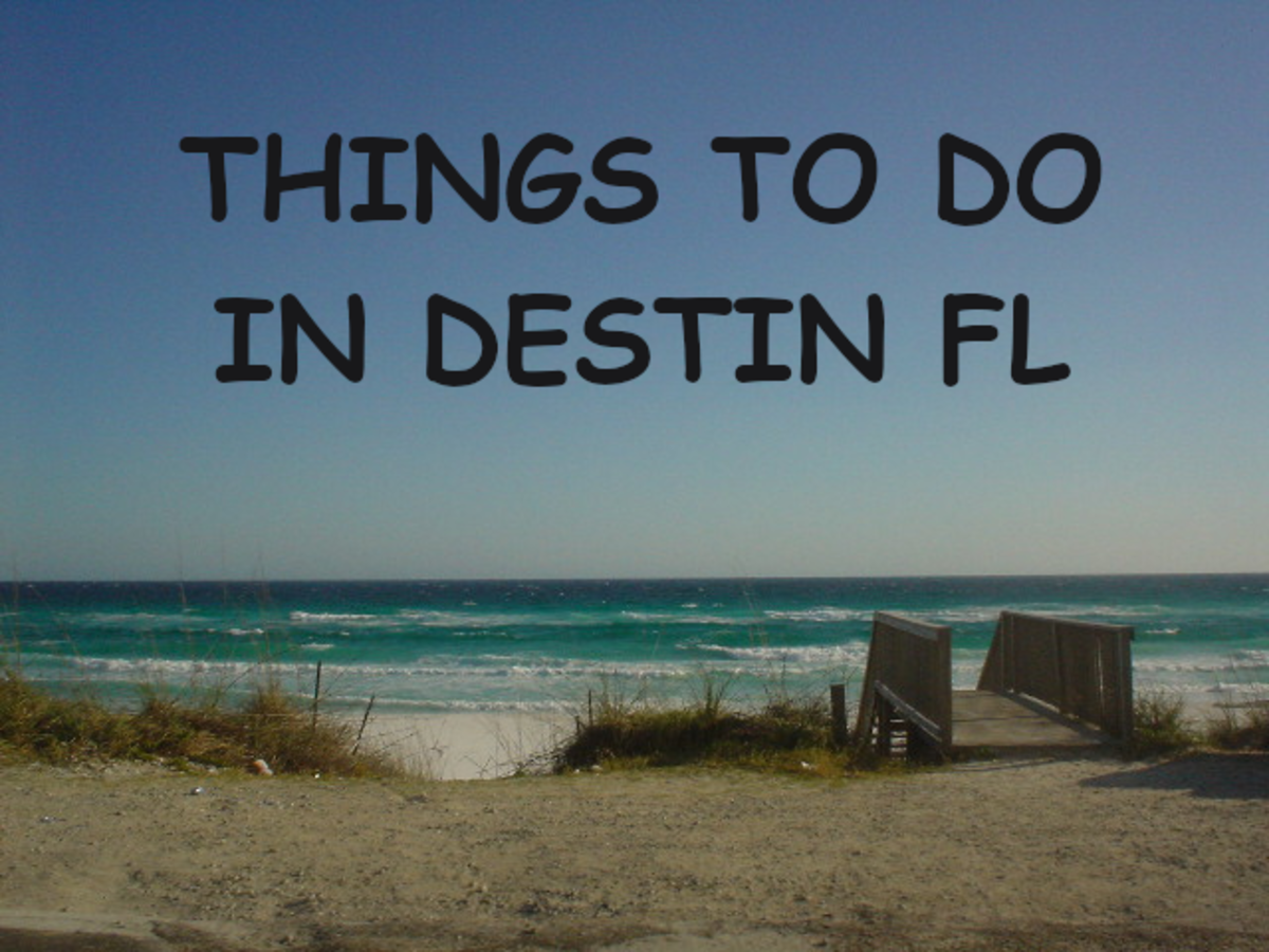 Destin is a great place to visit and enjoy. There are plenty of things to do and see. Read on for ideas.