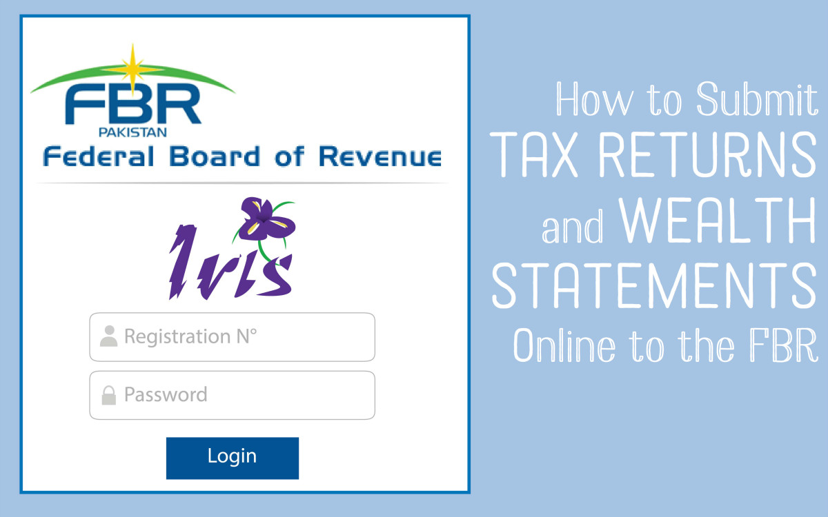How to Submit Tax Returns With the FBR Using Iris