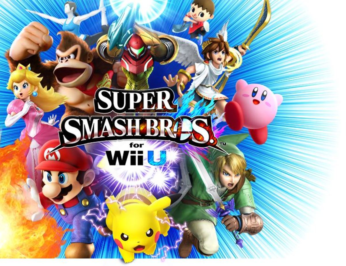 Top 5 (Pre-DLC) Characters in Super Smash Brothers 4