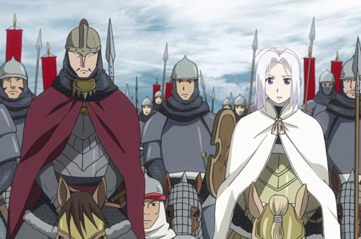 10 Anime Like Arslan Senki (The Heroic Legend of Arslan)