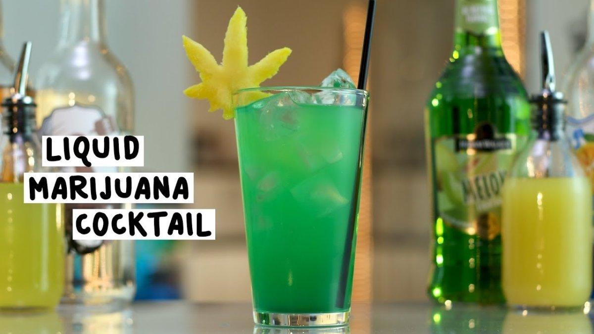 How to Make a Liquid Marijuana Cocktail
