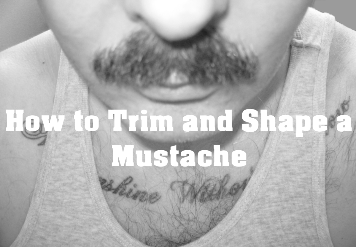 How to Trim and Shape a Mustache