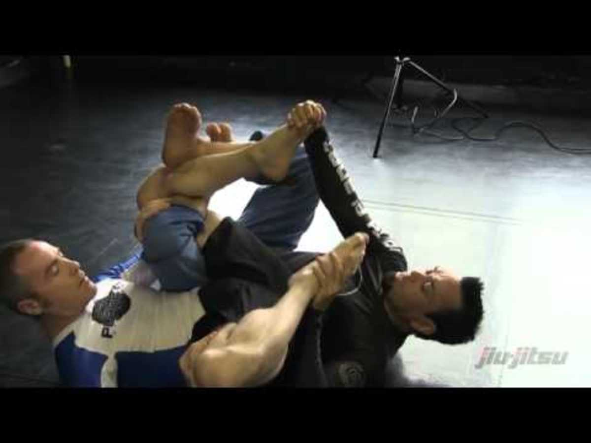 Vaporizer Leglock Setups and Finishes: a BJJ Tutorial