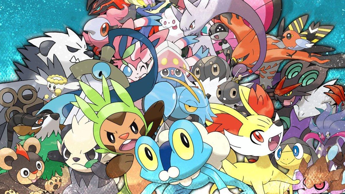 Gen 6 Pokemon