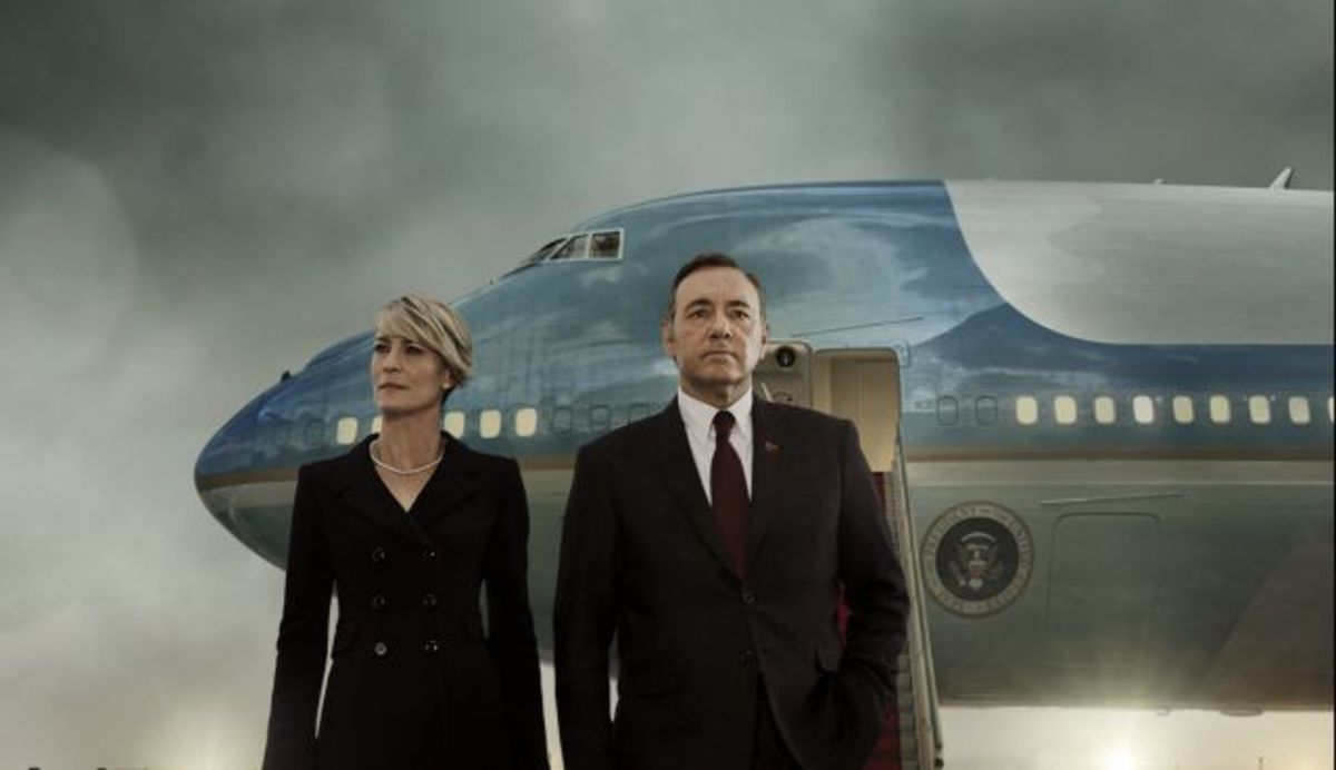 Frank and Claire Underwood take on the White House in the 3rd season of House of Cards.