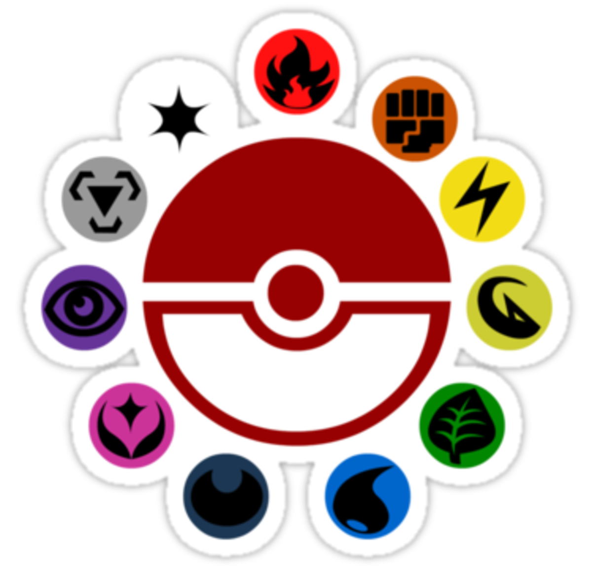 Pokemon Type Symbols