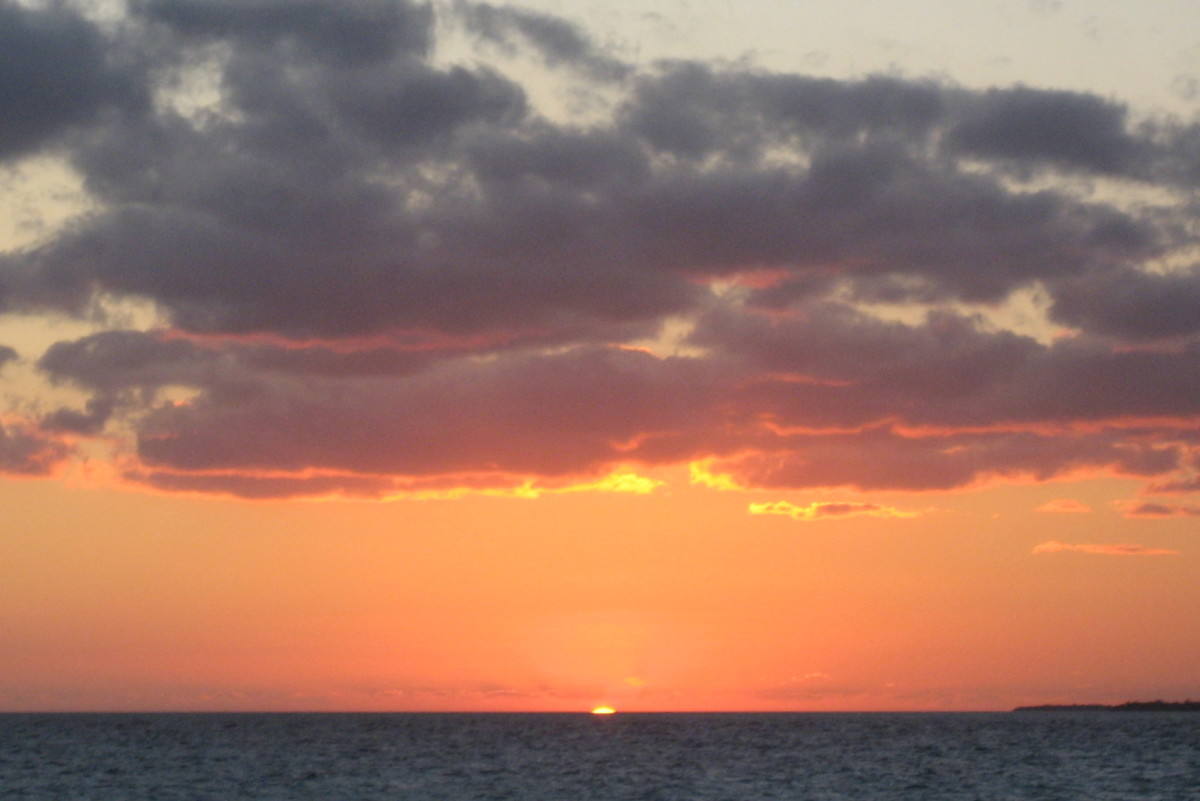 A beautiful Key West sunset - for free!