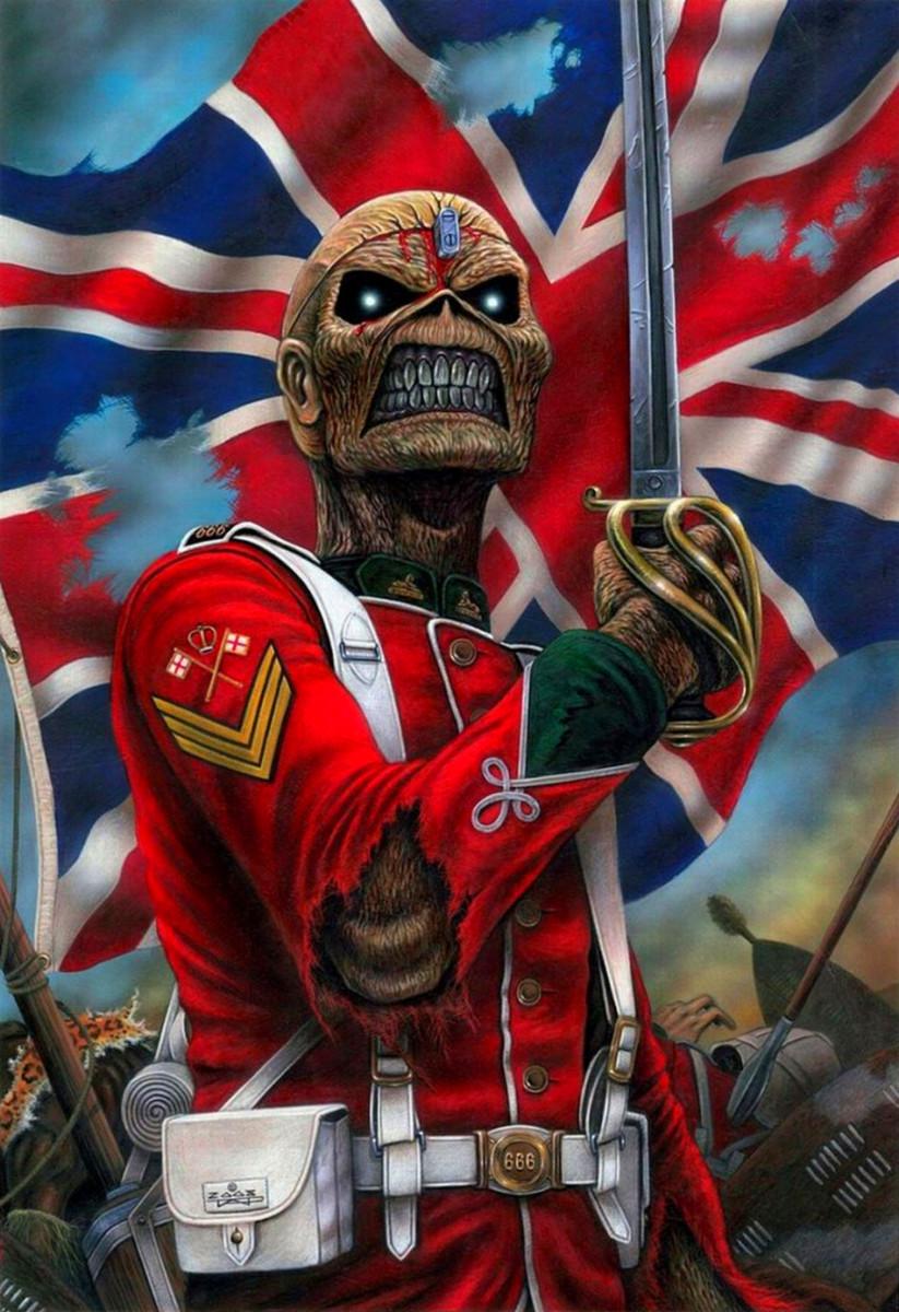 Iron Maiden Mascot Eddie by Derek Riggs