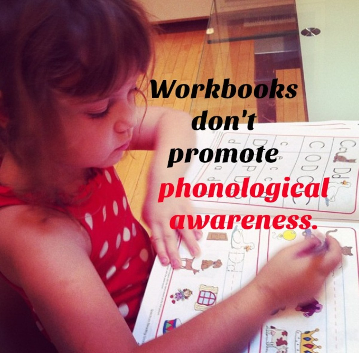 Teach Your Child to Read by Promoting Phonological Awareness