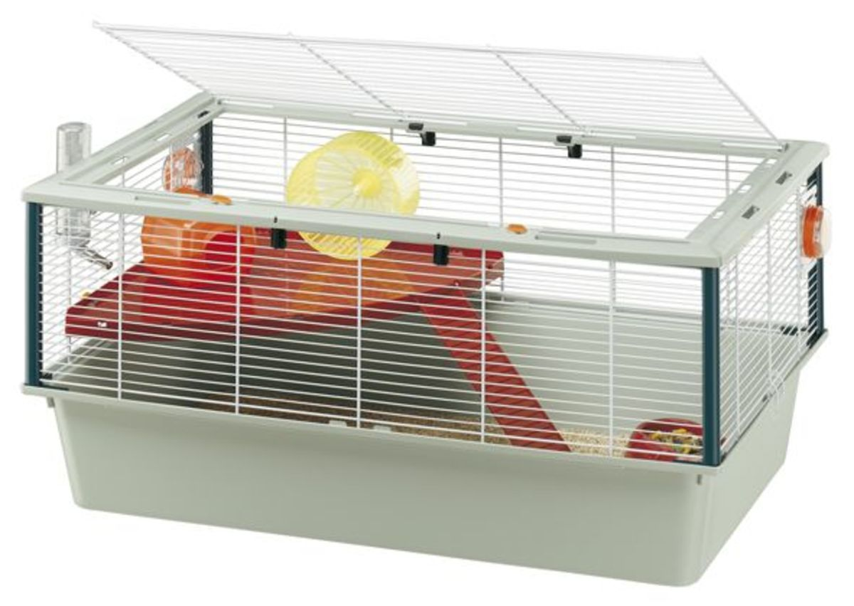 This is the perfect example of a cage and I own one, they are quite large and I have never had an issue. This is the perfect example of a suitable cage for a Syrian or two Russian Dwarf hamsters but is too large for Roborovski or Chinese hamsters.