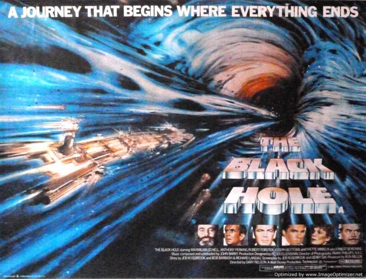 Black Holes As Seen in Popular Science Fiction Movies