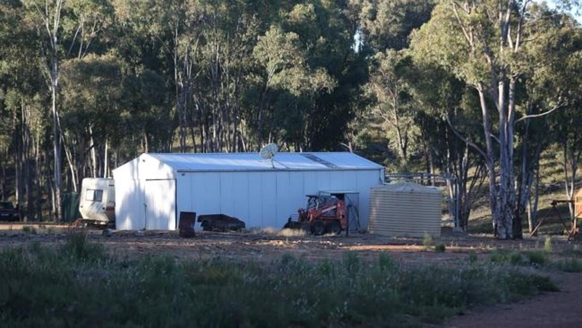 The farm where the Colt family lived.