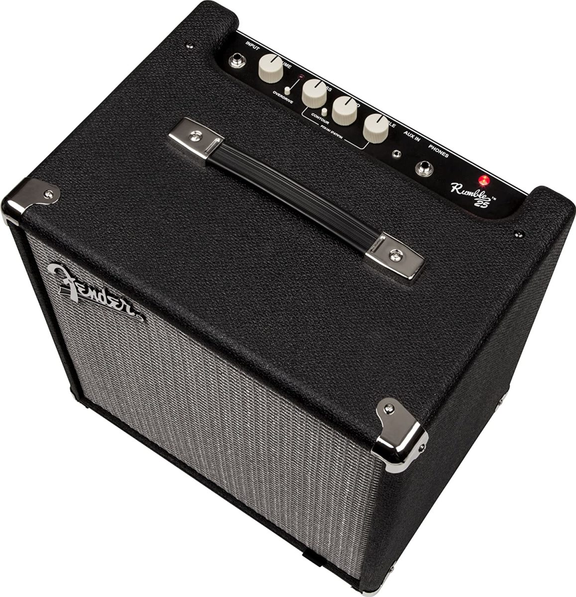 Fender Rumble 25 is one of the best bass amps for beginners.