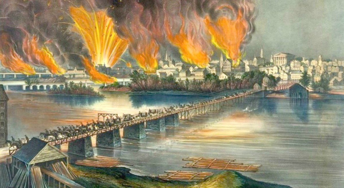 """The fall of Richmond, Va on the night of April 2d 1865"""