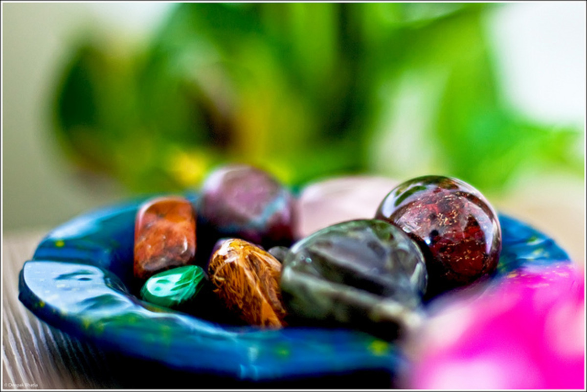 There are many varieties of crystals, each with its own healing properties.