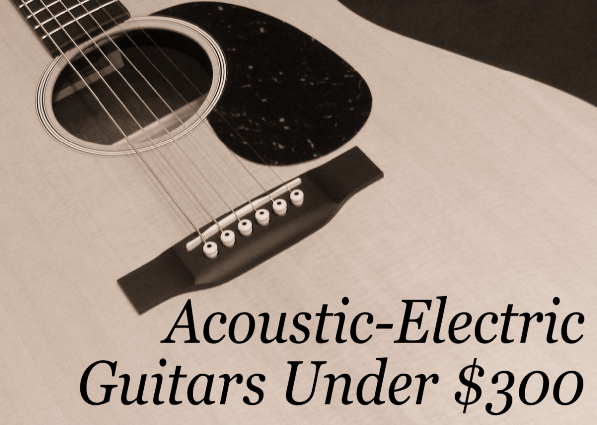Acoustic-electrics guitars make it easy for players to amplify their sound.
