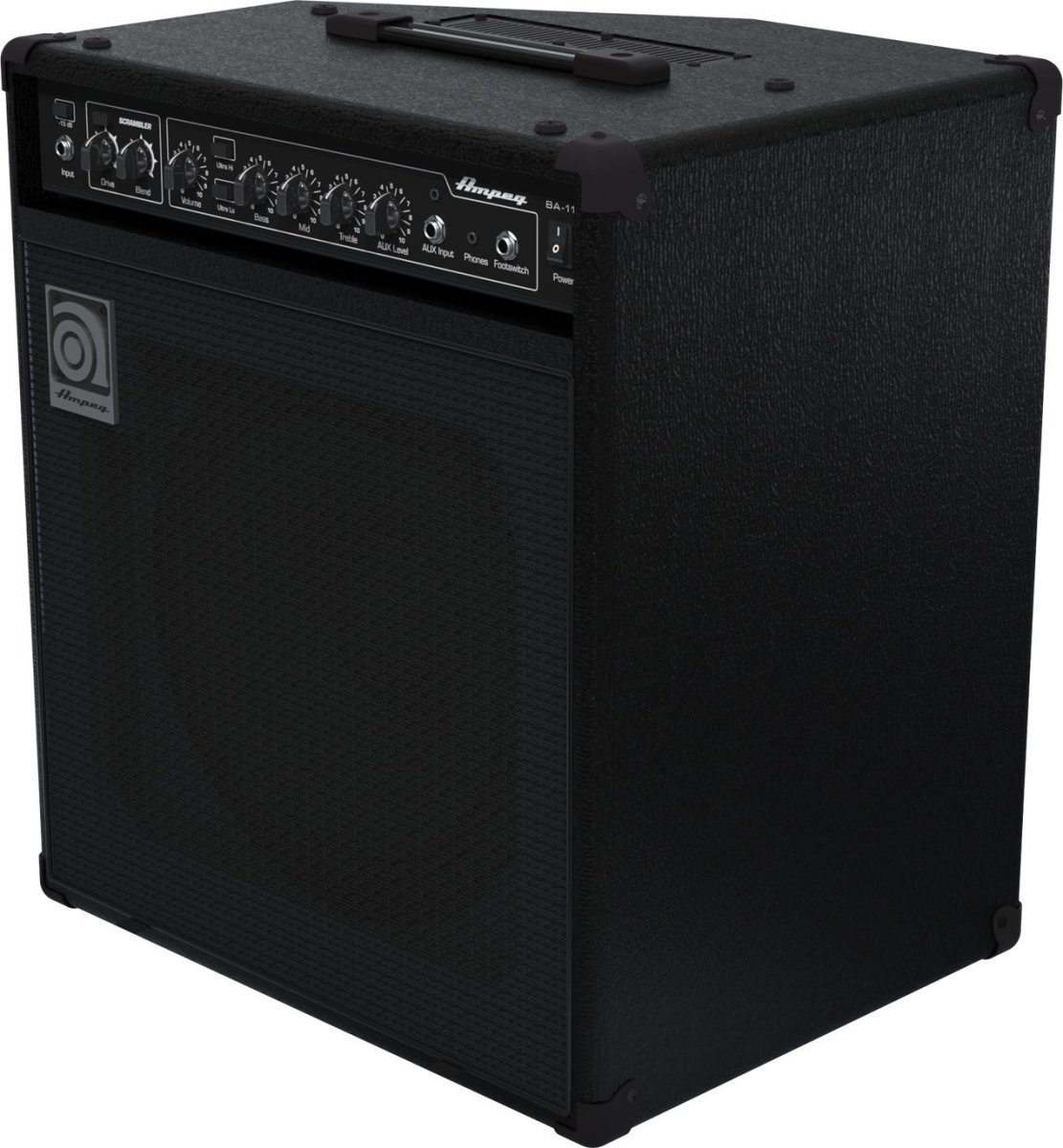 The Ampeg BA-112 v2 is one of the best bass combo amps for under $300.