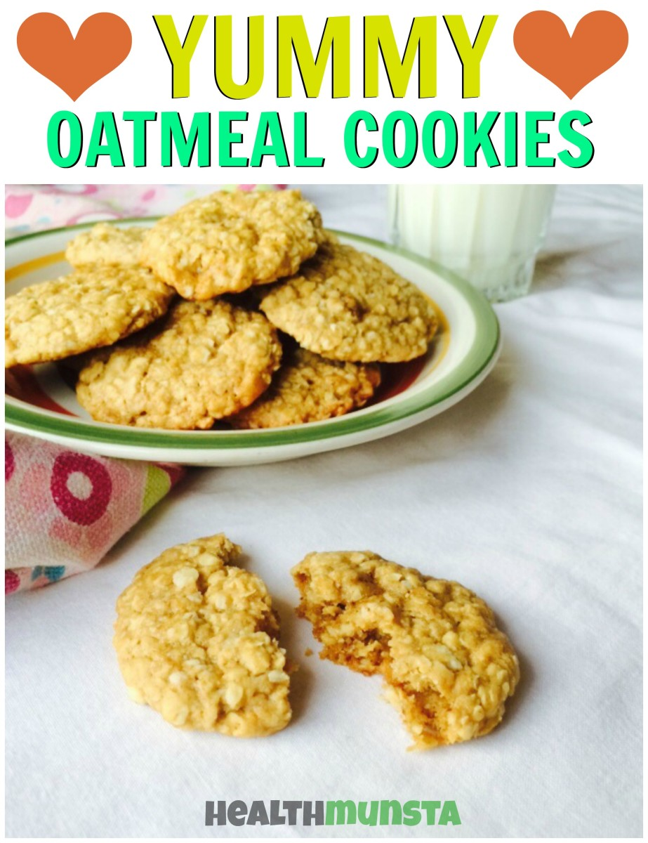 These simple vegan cookies are made with oatmeal and other minimal ingredients and are absolutely scrumptious!