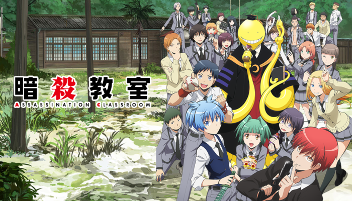 10 Anime Like Ansatsu Kyoushitsu (Assassination Classroom)