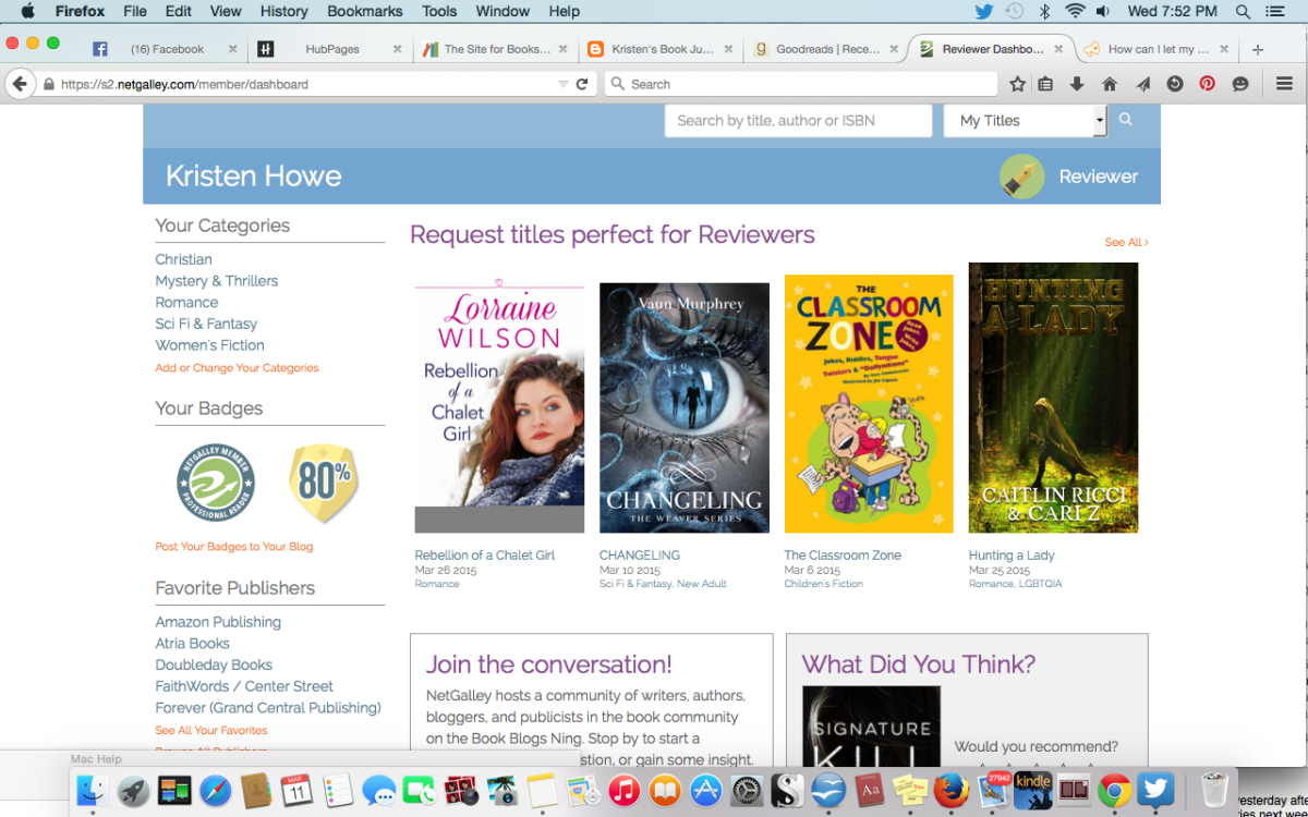 How to Write Great Book Reviews for Netgalley (and First to Read)
