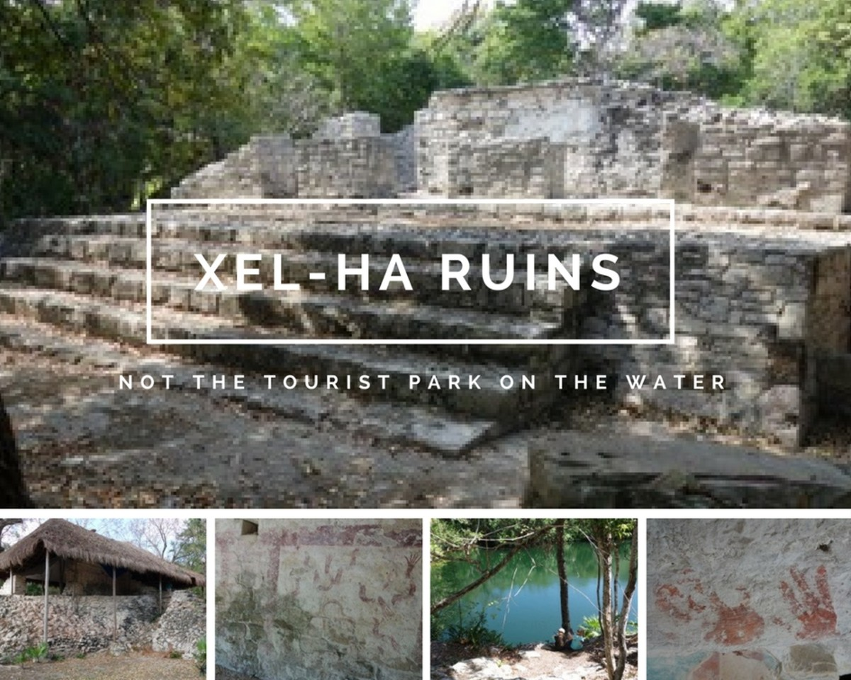 Xel-Ha Is More than a Tourist Park on the Water. Visiting the Ruins