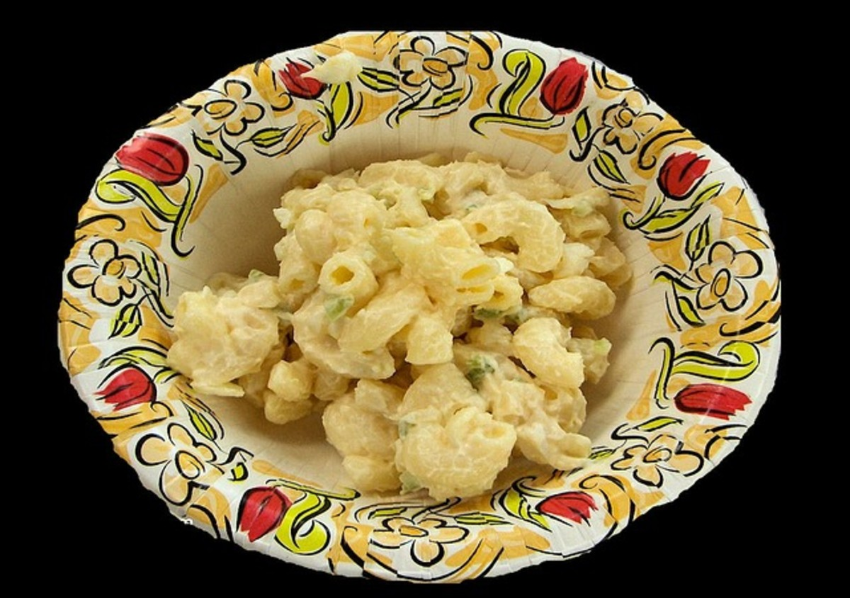 Pasta salads can easily be turned into a main dish