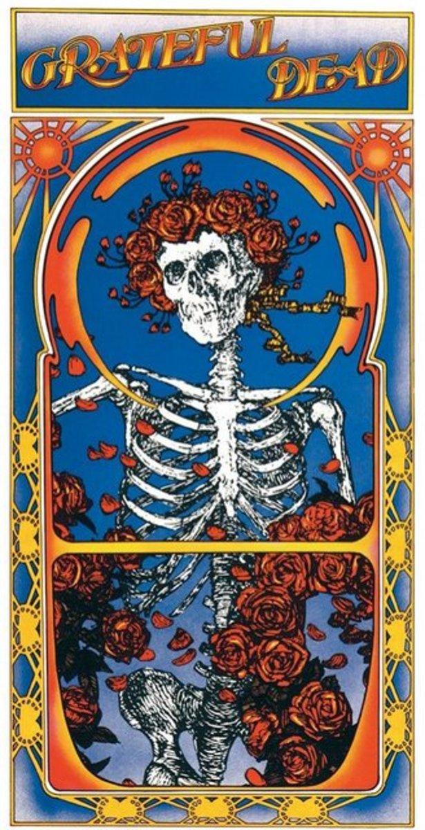 Album Cover Art by Stanley Mouse & Alton Kelley