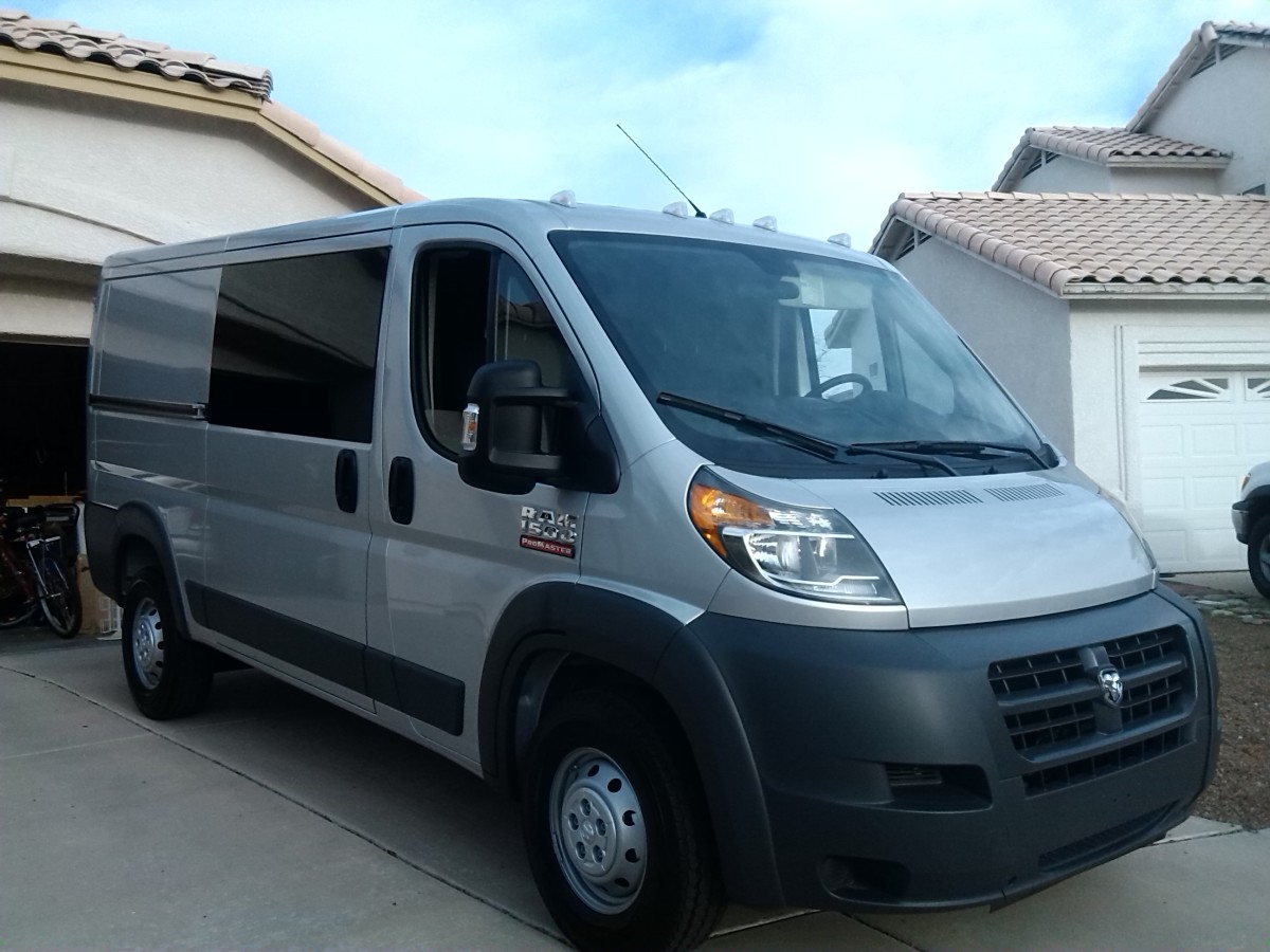 My New Dodge ProMaster Van