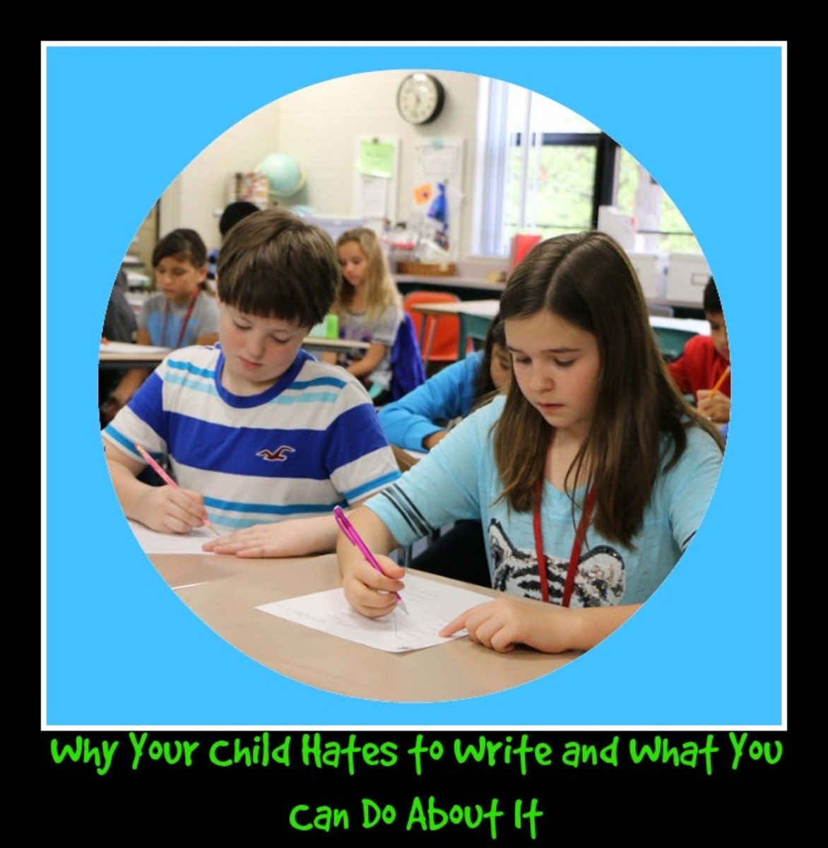Why Your Child Hates to Write and What You Can Do About It