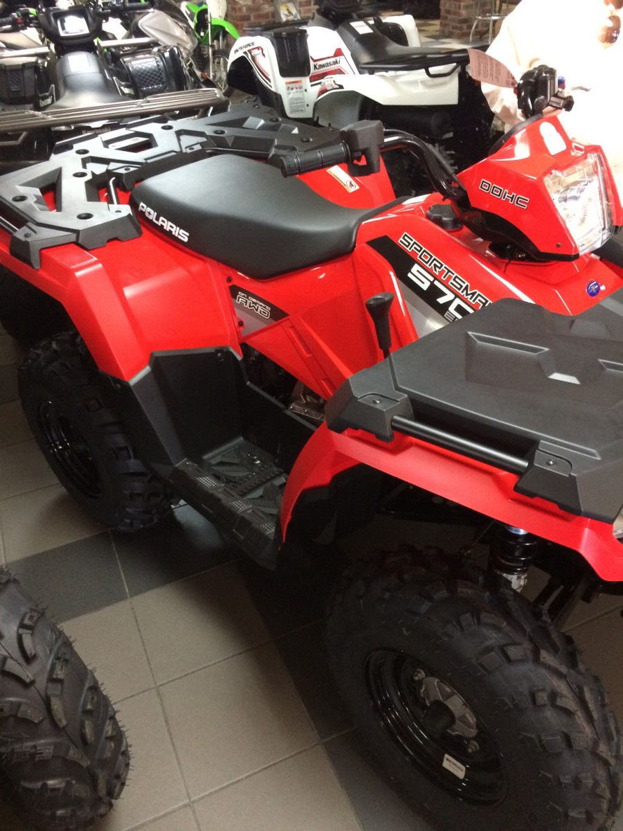 This Polaris Sportsman was one the the ATV's that I considered purchasing. This particular dealer had a bad reputation so I decided against purchasing from them.