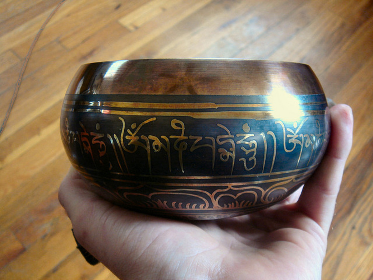 A cooper bowl can be used to recharge crystals with the energy of copper.