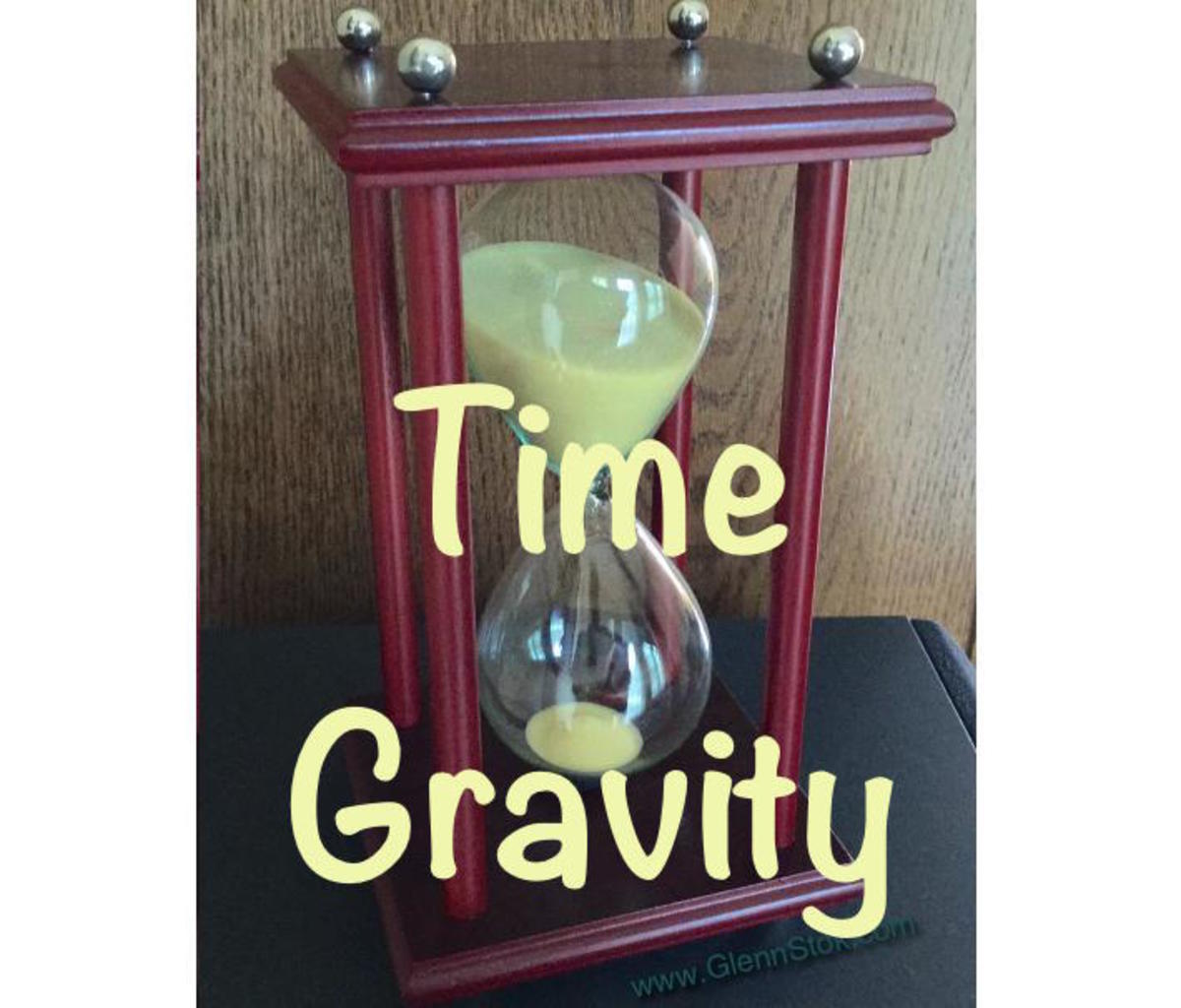 Time Gravity: A Theory About the Progress of Time