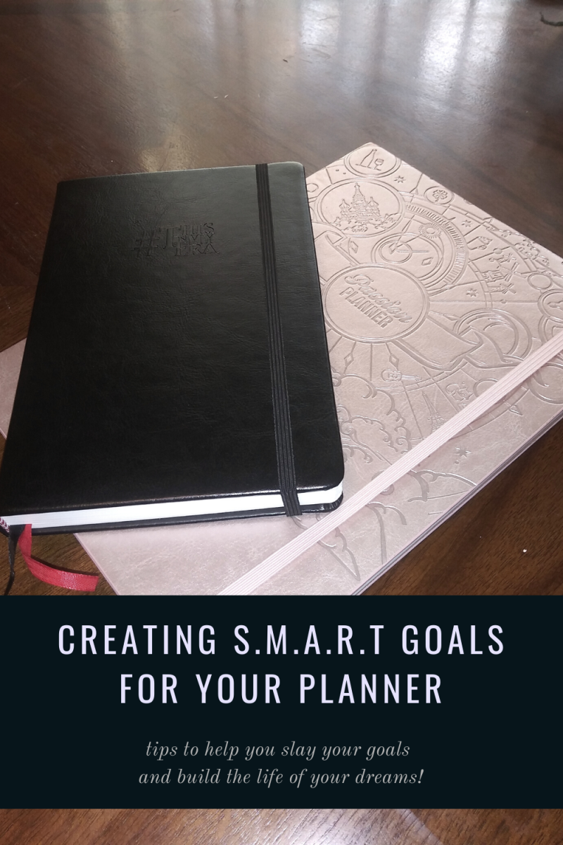 I like the #ThisIsMyEra planner or the Passion Planner #pashfam for creating and working toward my goals. These are two of my favorite planners.