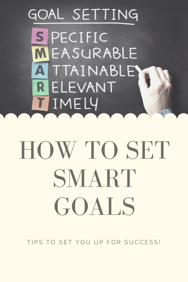 How to Create S.M.A.R.T. Goals (Tips to Help You Smash Your Goals!)