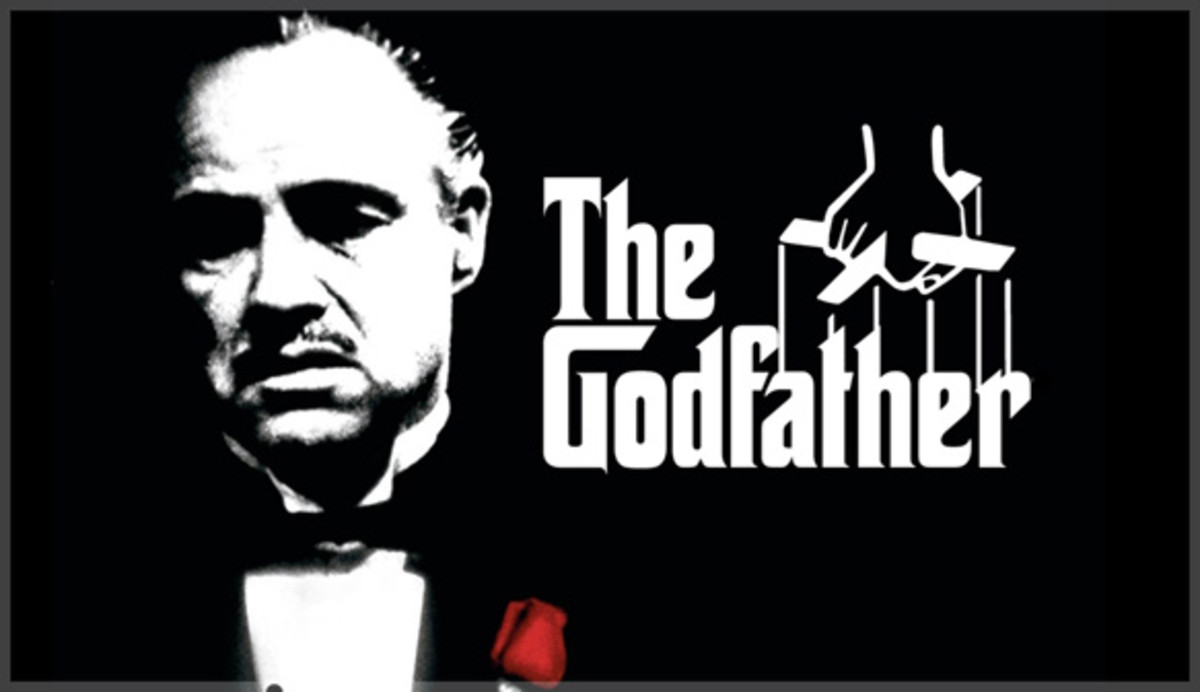 One of the promotional images of The Godfather with Vito Corleone (Marlon Brando)