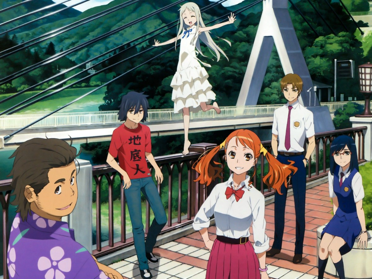 10 anime like anohana the flower we saw that day