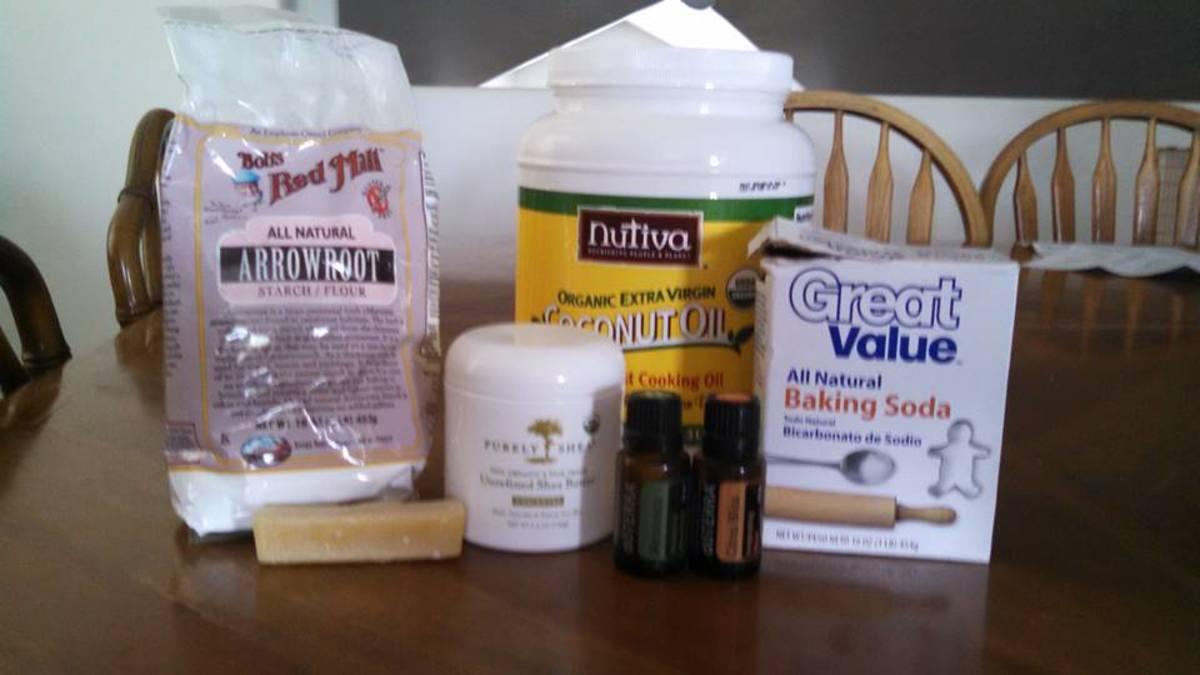 Natural Homemade Deodorant Recipe