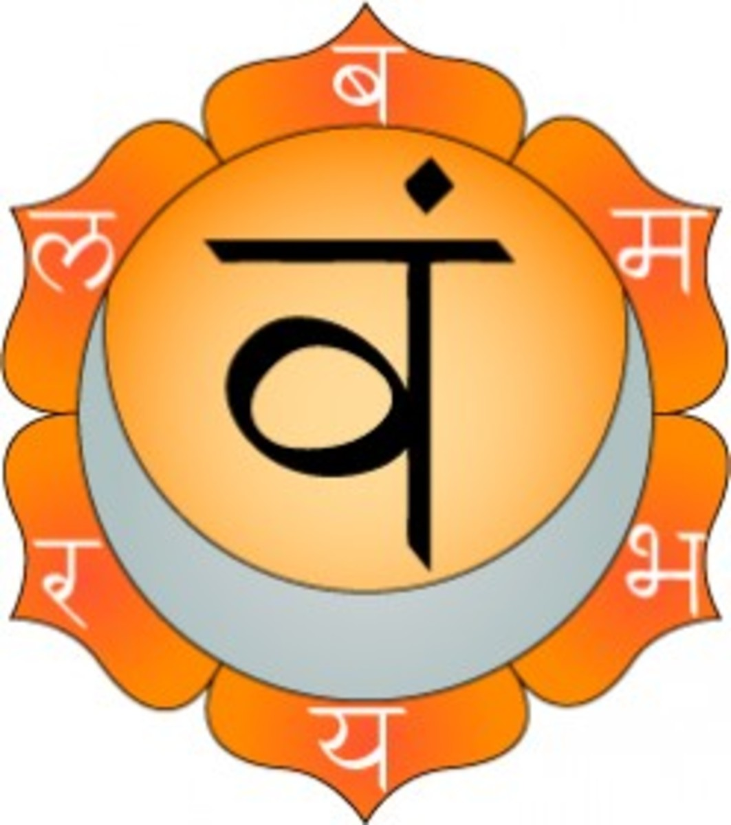 The sacral chakra can become blocked or imbalanced and have a negative effect on how you see the world.