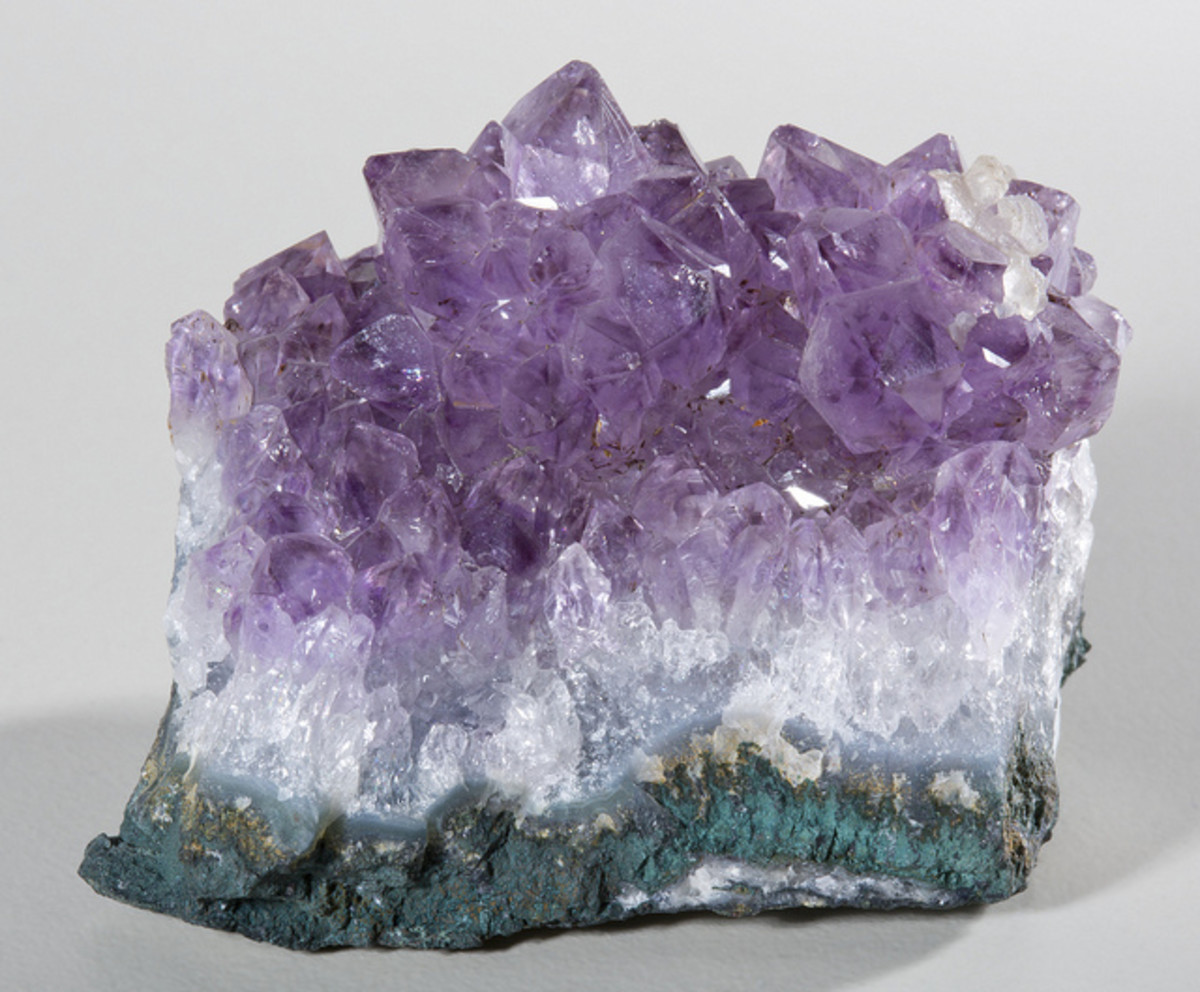 Use amethyst to cleanse and balance your aura.
