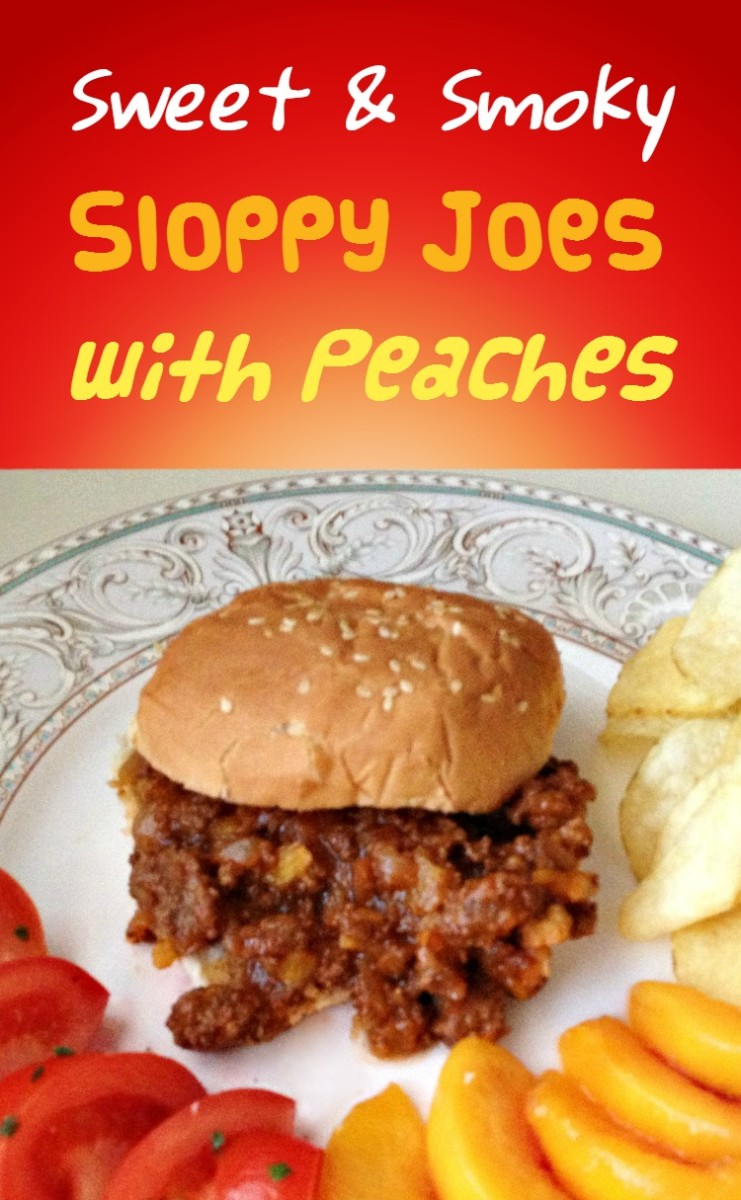 Peach BBQ-Style Sloppy Joes