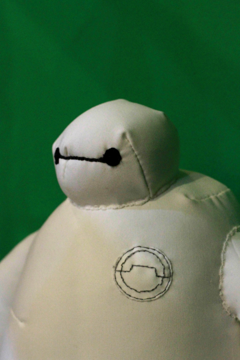 Craft a Baymax stuffed toy today!