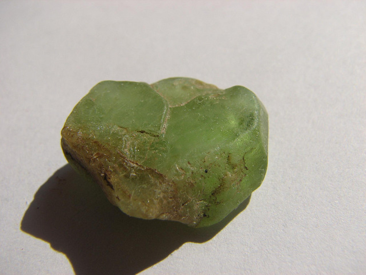 Peridot can be used to help you let go of guilt from the past and move forward in life.