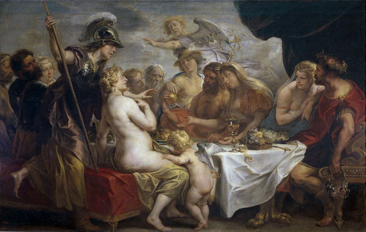 The Judgement of Paris in Greek Mythology