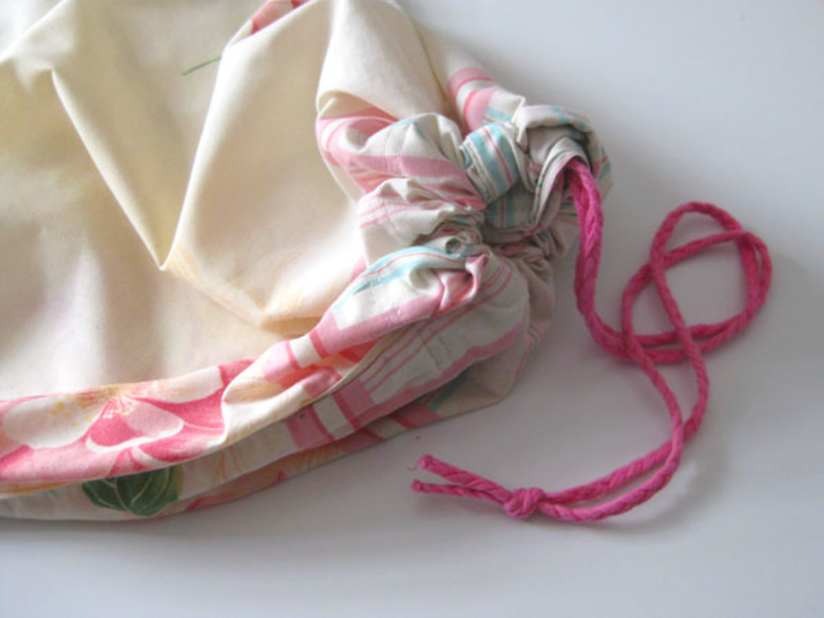 The finished bra bag - practical, durable, upcycled and very easy to make!